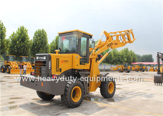 الصين Yellow Wheel Loader Equipment المزود