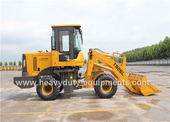 الصين 0.5m3 Bucket Mini Wheel Loader 9s Cycle Time Long Arm Joystick Y Type Wave Tyres المزود