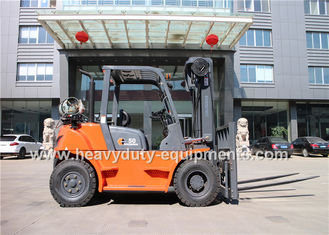 الصين Sinomtp FY50 Gasoline / LPG forklift with 2550mm Mast Lowered Height المزود