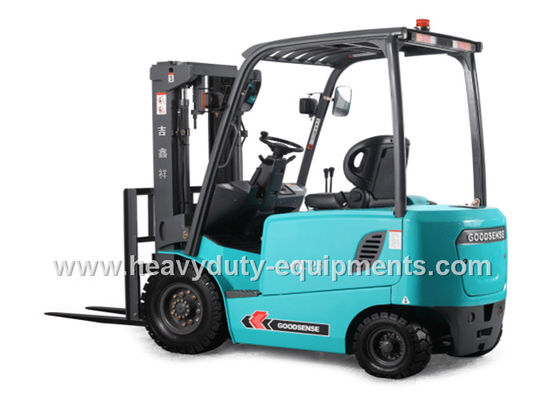الصين LCD Instrument Forklift Lift Truck Battery Powered Steering Axle 2500Kg Loading Capacity المزود