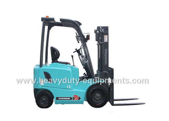 الصين Port / Wharf 3 Wheel Forklift 130mm Free Lift With Adjustable Steering Wheel المزود