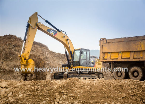 الصين 0.6 SLR Bucket Hydraulic Shovel Excavator With Cat® C7.1 ACERT™ engine المزود