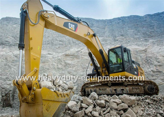الصين Caterpillar Hydraulic Excavator Heavy Equipment , 5.8Km / H Excavation Equipment المزود