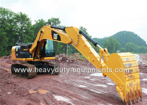 الصين Cat C7.1 Engine Hydraulic Crawler Excavator 6720mm Max Digging Depth المزود