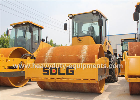 الصين SDLG RS8140 Road Construction Equipment Single Drum Vibratory Road Roller 14Ton المزود