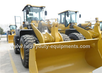 الصين Heavy Duty Axle 5 Ton Wheel Loader DDE Engine With Snow Blade / Air Conditioner المزود