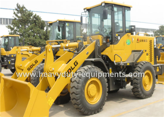 الصين Wheel loader LG936L With 92kw Weichai Engine 1.8m3 Bucket Pallet Fork for Option المزود