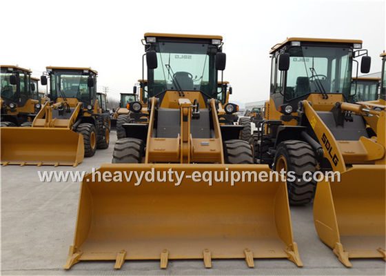 الصين Small Front End Loader SDLG LG918 Weichai DEUTZ Engine With Air Condition / Pallet Fork المزود