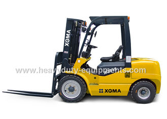 الصين Low Fuel Consumption Industrial Forklift Truck 228G / Kw.H With Adjustable Spread Range المزود