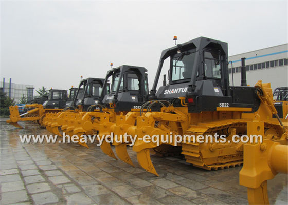 الصين Heavy Earth Moving Equipment Shantui Bulldozer Straight Tilt Blade For Desert المزود