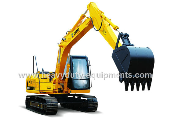 الصين XGMA XG815EL hydraulic excavator Equipped with engine ISUZU BB 4BG1TRP المزود
