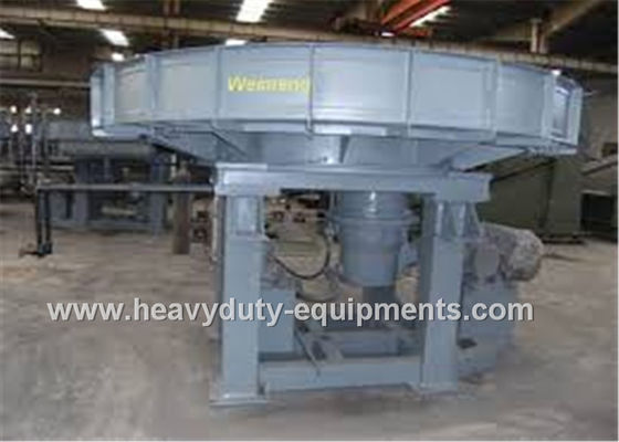 الصين 0.55Kw Motor Continuous Mining Equipment Rotary Disc Feeder 8.0T / H For Powder Material المزود