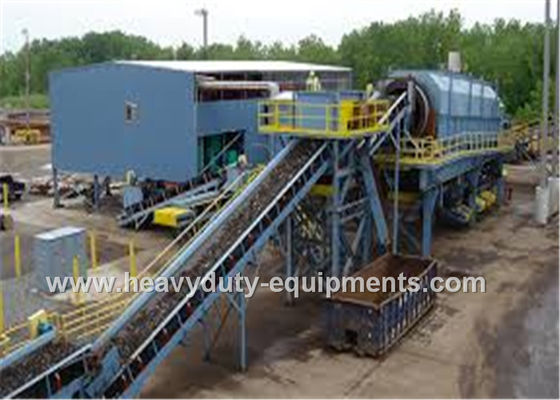 الصين 13-794 M3 / H Industrial Mining Equipment Cleated Belt Conveyor With Max 90° Inclination Angle المزود