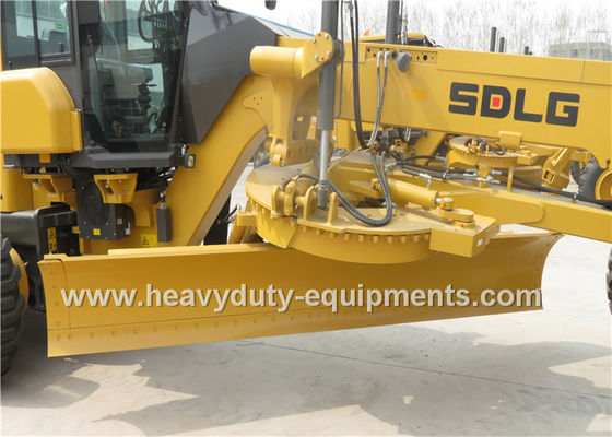 الصين Mechanical Road Construction Equipment SDLG Motor Grader Front Blade With FOPS / ROPS Cab المزود