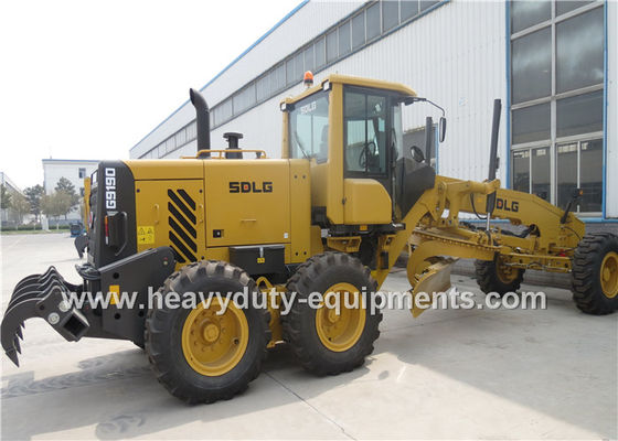 الصين 16 Tons Road Construction Safety Equipment Front Blade Motor Grader With 1626mm Cutter المزود