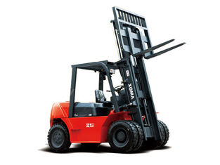 الصين Low oil consumption forklift with improved performance equipment المزود
