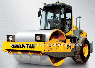 الصين Shantui SR16 single drum road roller with compacting width 2140mm, 112kw cummins engine المزود