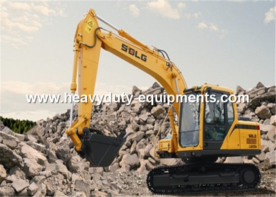 الصين VECU Hydraulic Crawler Excavator 15 Tonne 98.1KN Excavation Force Without GPS المزود