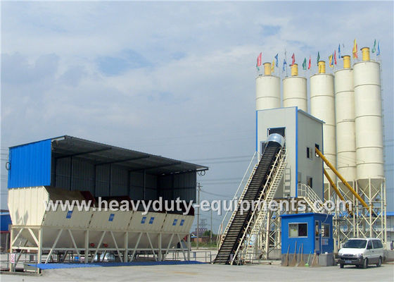 الصين SHANTUI Foundation Free Concrete Batching Plant Urbanization Series Equipment المزود