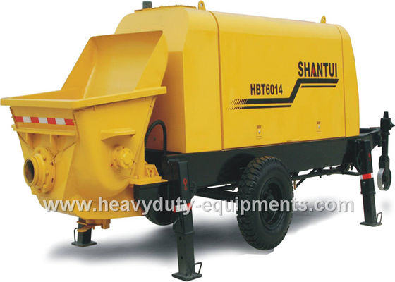 الصين SHANTUI HBT9018R concrete pump trailer adopts Weichai Deutz diesel engine المزود
