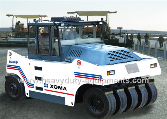 الصين XGMA XG6261P road roller with 2750mm compacting width working in roadbed المزود