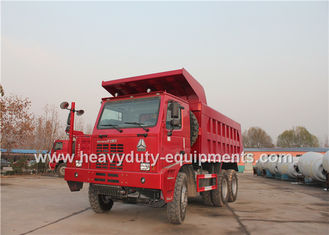 الصين 70 ton 6x4 mining dump truck with 10 wheels 6x4 driving model HOWO brand المزود