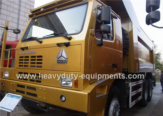 الصين heavy loading HOWO dump Truck with Chassis with WABCO System / Strengthen Bumper المزود