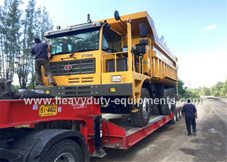الصين 60 tons Off road Mining Dump Truck Tipper  306kW engine power drive 6x4 with 34m3 body cargo Volume المزود