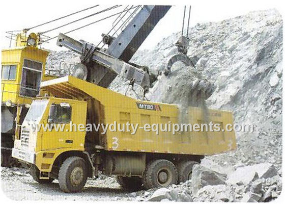 الصين Rated load 50 tons Off road Mining Dump Truck Tipper  drive 6x4 with 32 m3 body cargo Volume المزود