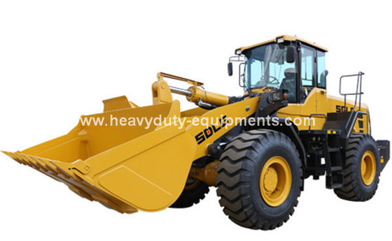 الصين SDLG 5T 3m3 Wheel Loader with Weichai 162kw , SDLG Heavy Axle, ZF Transmission for option المزود