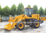 الصين Yellow 2 Ton Wheel Loader Equipment Luxury Cab With Yuchai Turbo Engine YC4D80-T20 58kw مصنع