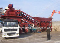 Hongda HZS/HLS120 Concrete Construction Equipment 125kw Concrete Mixing Plants