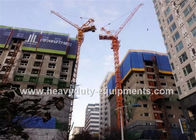 الصين 46M Free Height Construction Machinery Equipment Outside Climbing Tower Crane مصنع
