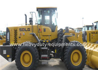 الصين Dual Brake Pedal Wheel Loader Construction Equipment  L956F  3 Valve Control مصنع