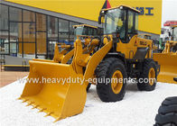 الصين Mechanical Operation Front Loader Construction Equipment 12700Kg Operating Weight مصنع