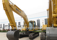 5.1km / h Hydraulic Crawler Excavator 172.5KN Digging Force Standard Cab With A / C