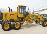 2200R / Min Road Construction Machinery 16.5 Ton Motor Grader With 158Kw Rear Axle Drive