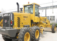 87KN Tractive Force Motor Grader 39Km / H Road Machinery Equipment DDE Engine