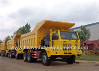 Mining tipper truck / dump truck bottom thickness 12mm and HYVA Hydraulic lifting system