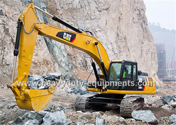 CAT 330D2L Hydraulic Crawler Excavator 9.6 rpm Swing Speed with 1.54m³ bucket