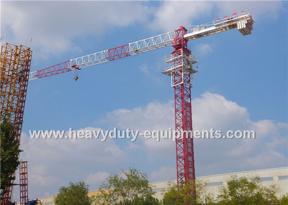 Residential Buildings Horizontal Electric Tower Crane Jib Frame 3.1T Tip Load
