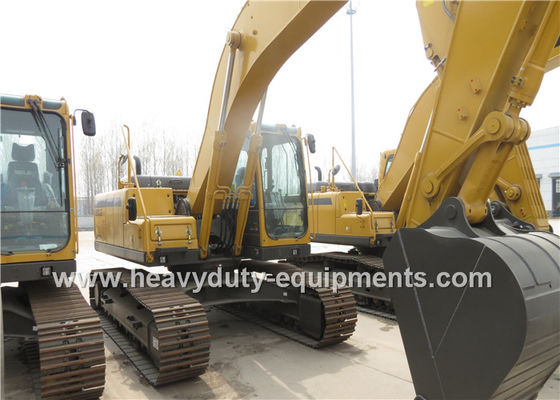 SDLG Construction Equipment Hydraulic Crawler Excavator 195KW Rated Power 6 Cylinder Turbocharger