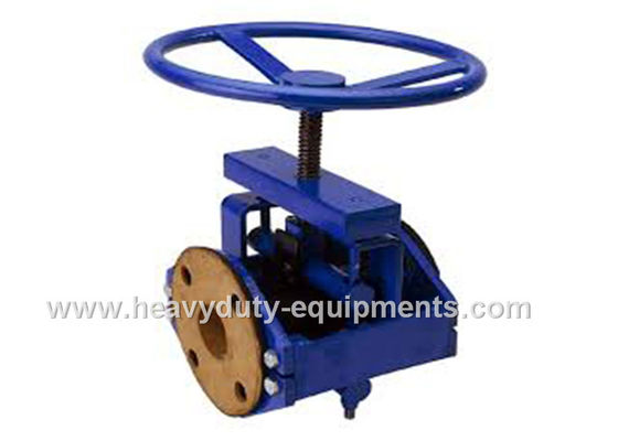 Automatic Industrial Mining Equipment Pipelines Pinch Valve Smooth Internal Surface