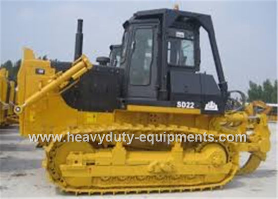 الصين Shantui SD22W rock bulldozer equipped with 6m3 dozing capacity Cummins engine مصنع