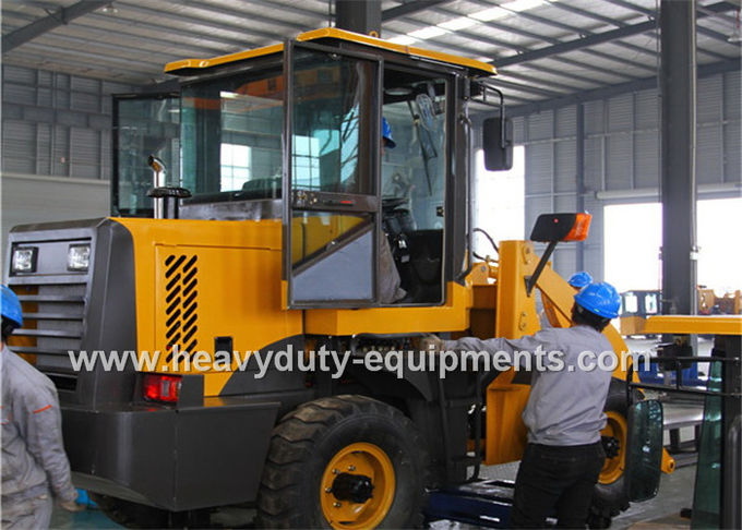 Yellow Wheel Loader Equipment