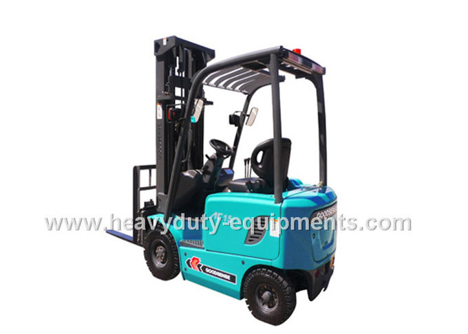 SINOMTP forklift uses adjustable steering wheel and economical engines