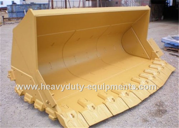 rock bucket with 0.8m3 capacity and 9955mm excavate distance