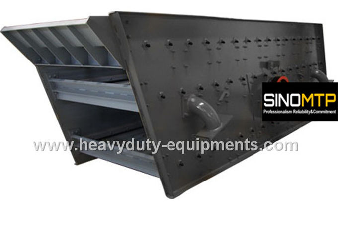 2 Layers Vibrating Screen Machine 2100×6000 mm 7-11 mm D - Amplitude