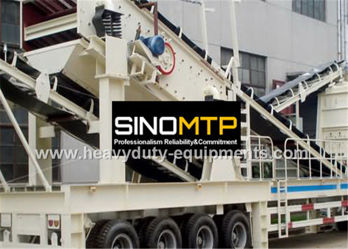Mobile impact Crusher / Stone Crusher Machine with Two Spindle Car Body