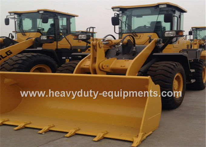 Wheel loader LG936L With 92kw Weichai Engine 1.8m3 Bucket Pallet Fork for Option